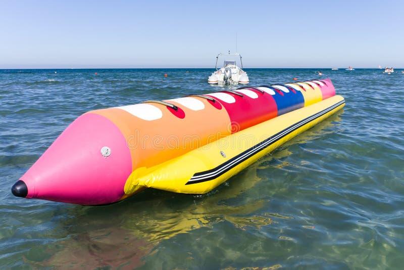Colorfull Banana Boat Royalty Free Stock Photos