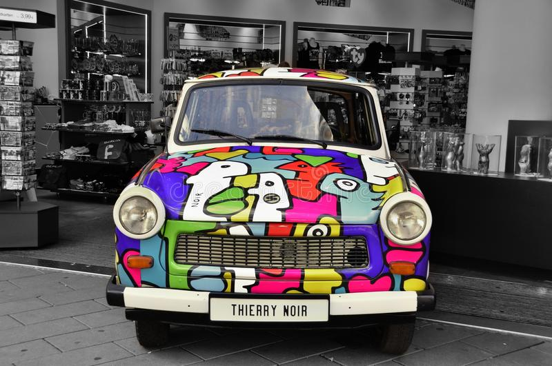 Colorfull car stock images