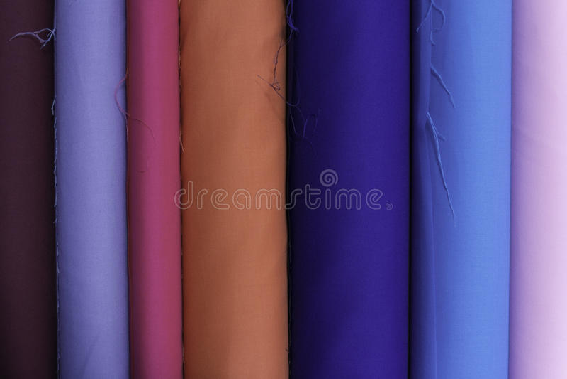 Colorfull de tissu photos stock