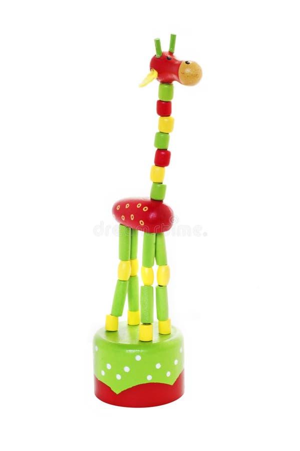 Colorfull-Giraffenspielzeug stockbilder