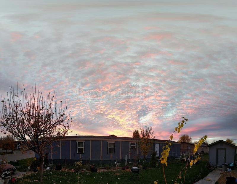 colorfull Himmel lizenzfreies stockfoto