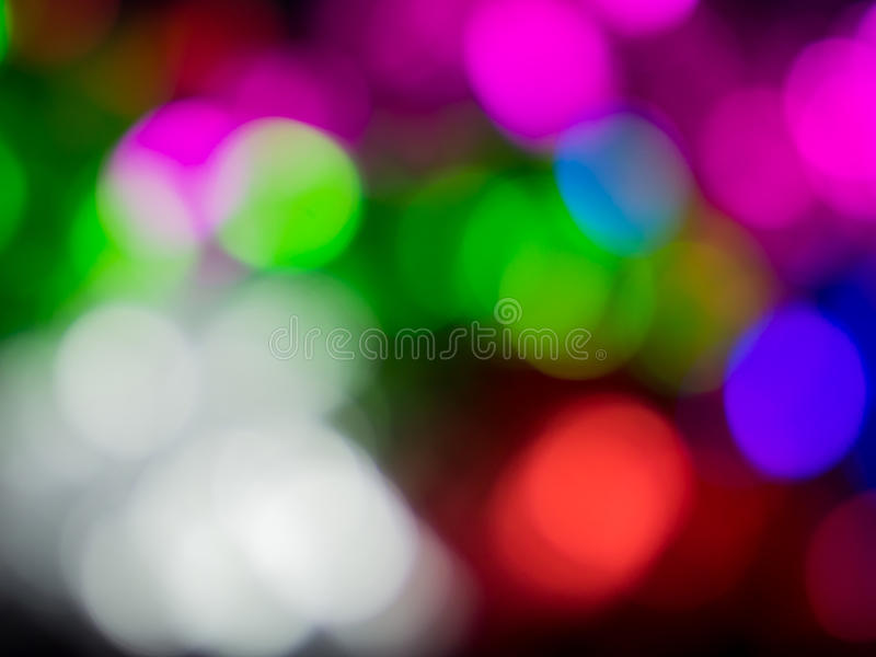 Colorfull night light bokeh background royalty free stock photography