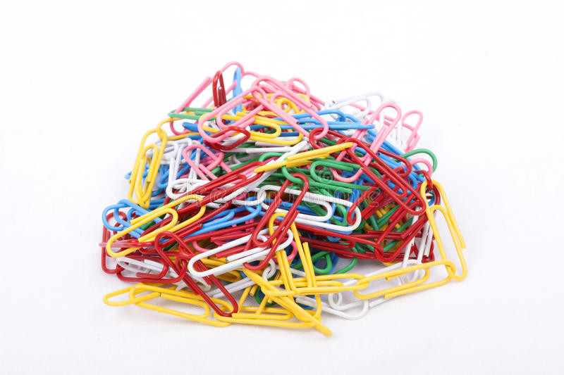 Download Colorfull Paper Clips Stock Photos - Image: 32322073