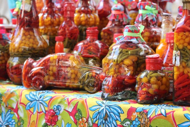 Colorfull Pfeffer lizenzfreie stockfotografie