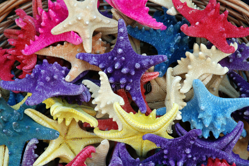 Download Colorfull Starfish Souvenirs Stock Photo - Image: 5158670