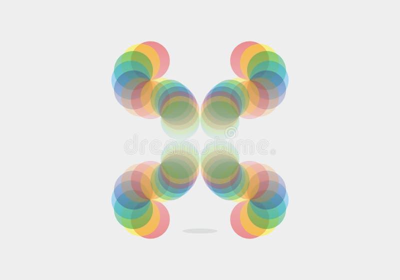 Colorfull vibespeacefull arkivfoton