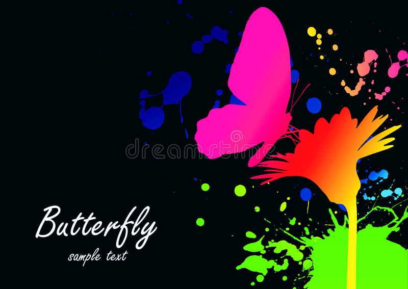Colorfull wallpaper vector illustration