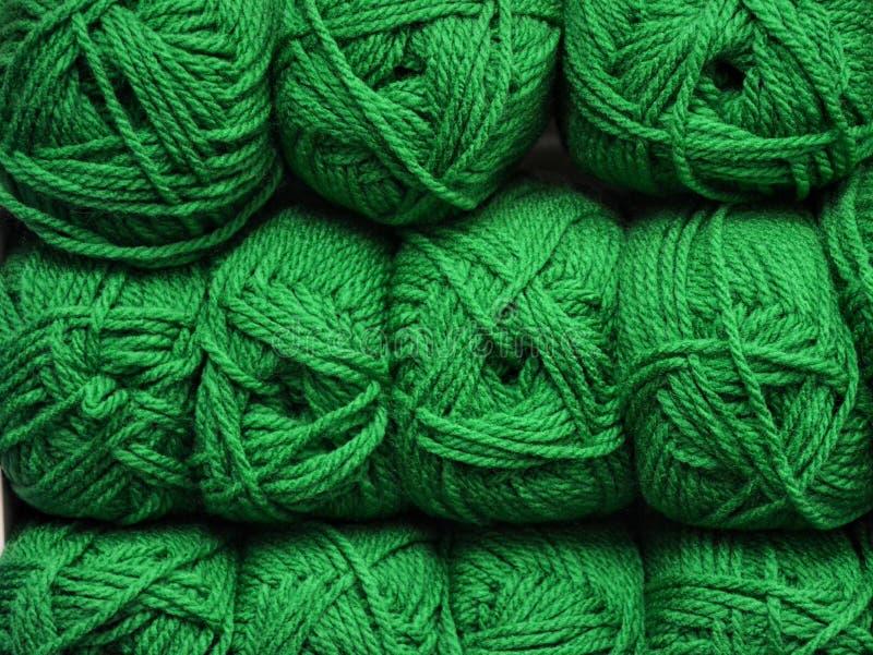 Colorfull woolen skeins zdjęcia royalty free