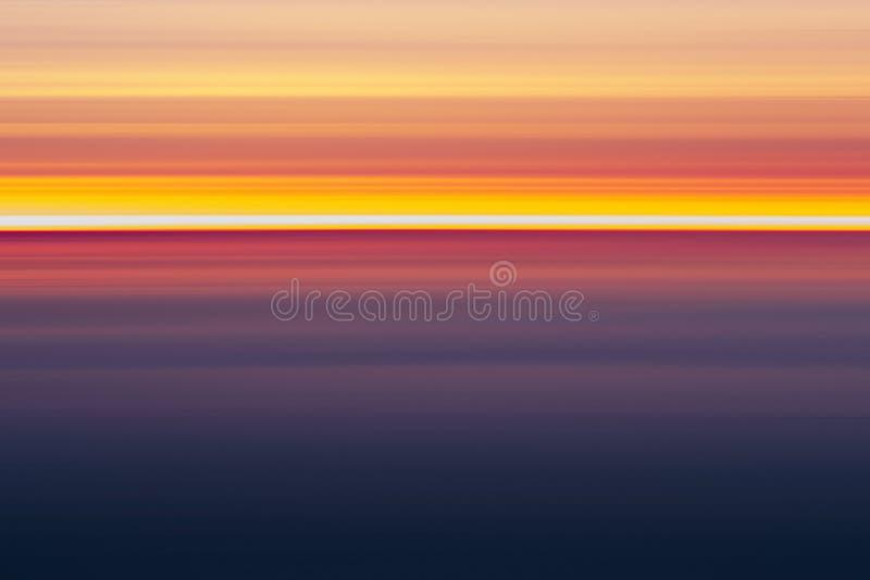 Colori astratti di tramonto, royalty illustrazione gratis