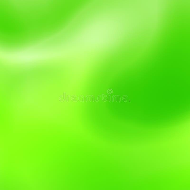 Colori d'ardore ondulati illustrazione di stock