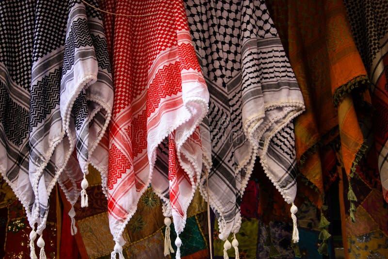 Colori del bazar di vecchia città di Gerusalemme in Israele immagine stock