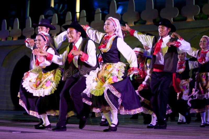 Colori del festival il 25 maggio 2007 della Malesia fotografie stock libere da diritti
