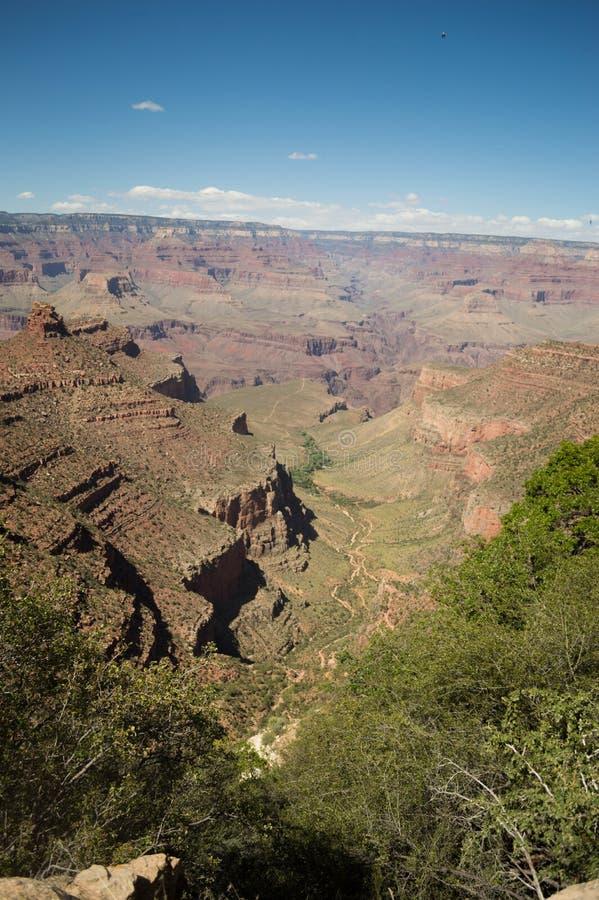 Colori del Grand Canyon un giorno di estate immagine stock