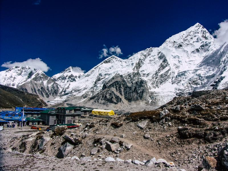 Colori del Nepal fotografia stock