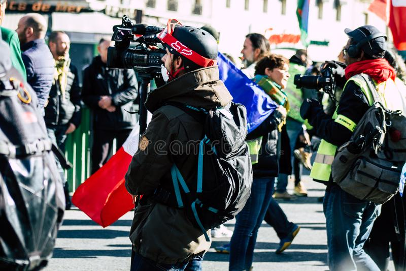 Colori della Francia fotografia stock