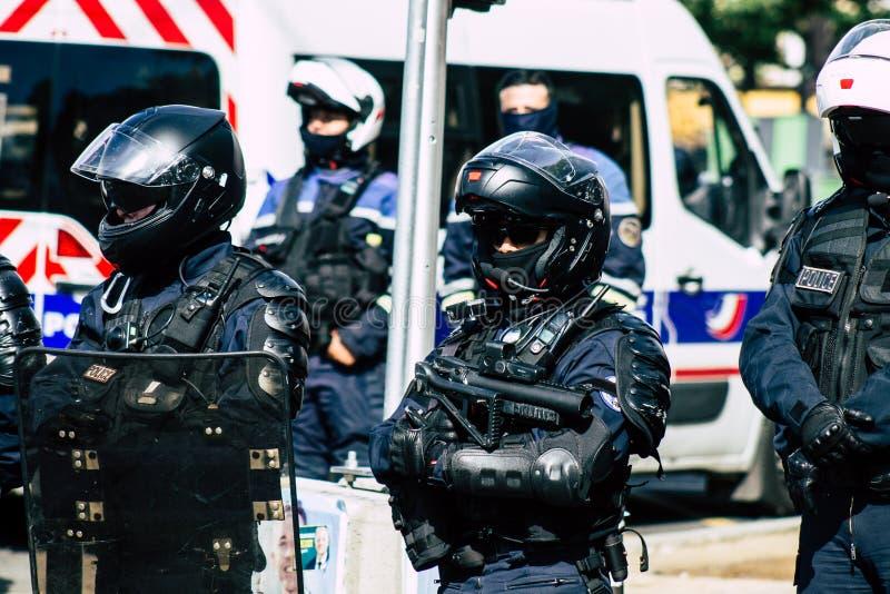 Colori della Francia immagini stock