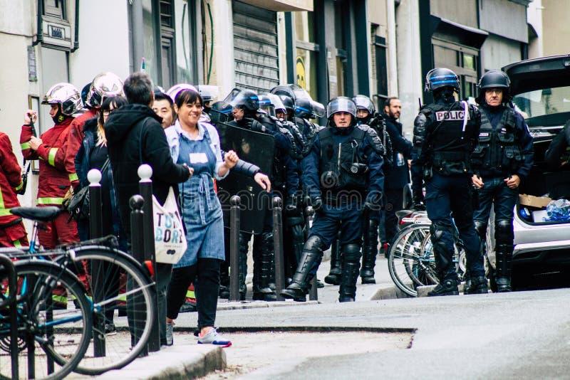 Colori della Francia immagini stock libere da diritti