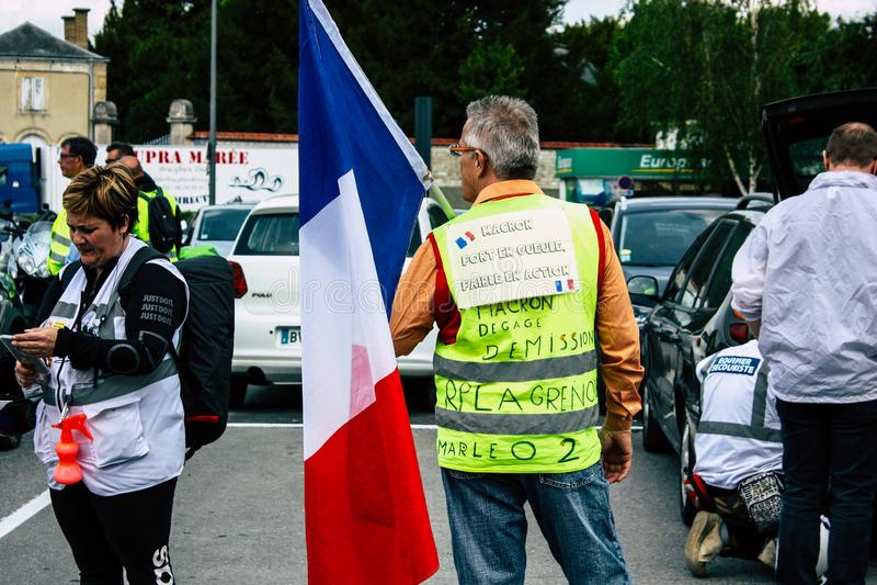 Colori della Francia fotografie stock