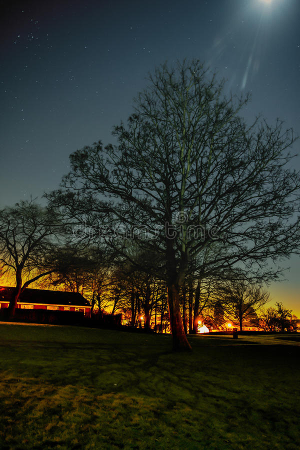 Colori della notte fotografie stock