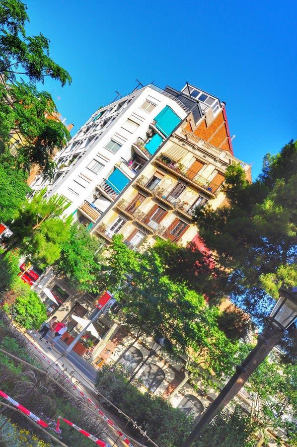 Colori di Barcellona fotografia stock libera da diritti