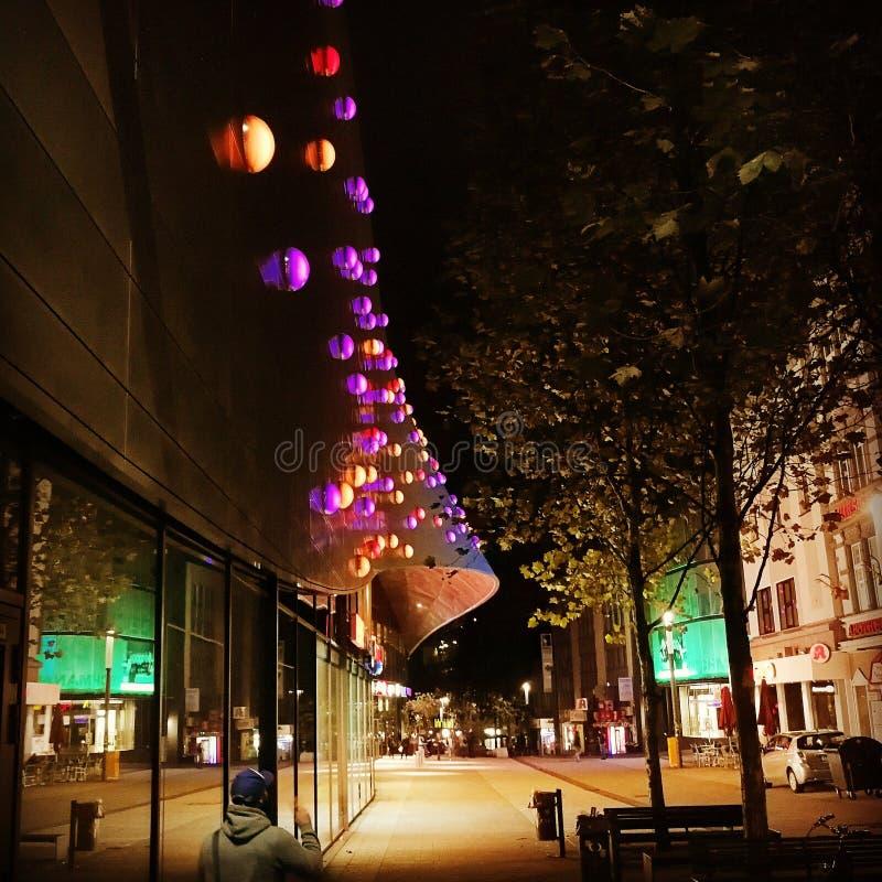 Colori di notte fotografie stock libere da diritti