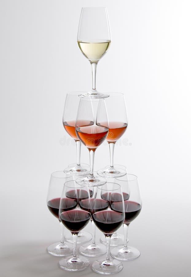 Colori di vino fotografia stock