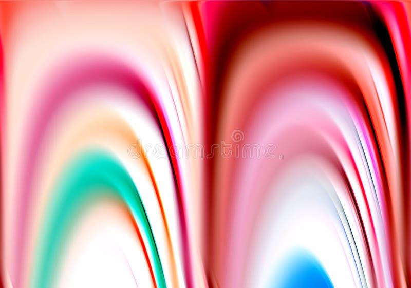 Colori e fondo rosa fosforescenti allegri di forme di contrasto nelle tonalità pastelli fotografia stock libera da diritti