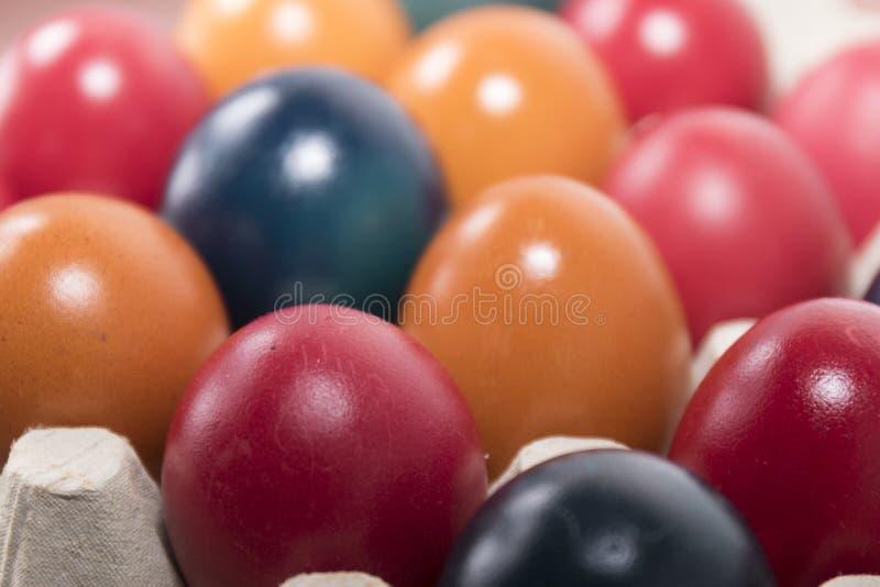 Colori e tradizione, uova di Pasqua fotografie stock