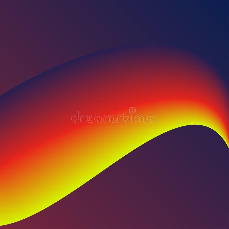 Colori fluidi con la pendenza giallo arancione su fondo rosa sottragga la priorità bassa Perfezioni per la copertura, la stampa,  fotografia stock libera da diritti