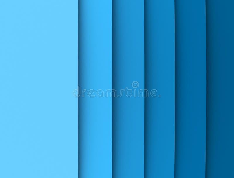 Colori il gradiente su documento illustrazione vettoriale