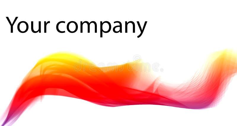 colori le linee dinamiche estratto moderno illustrazione vettoriale