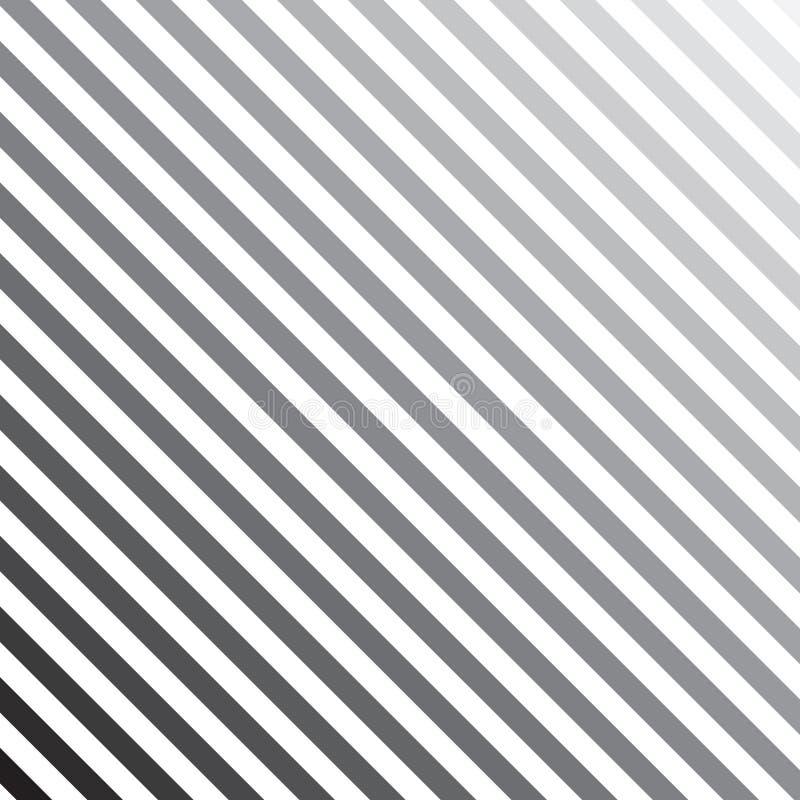 Colori le linee fondo della diagonale di transizione del tono illustrazione vettoriale