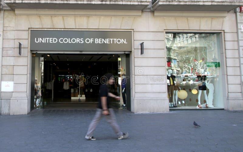 Colori uniti di Benetton immagini stock libere da diritti