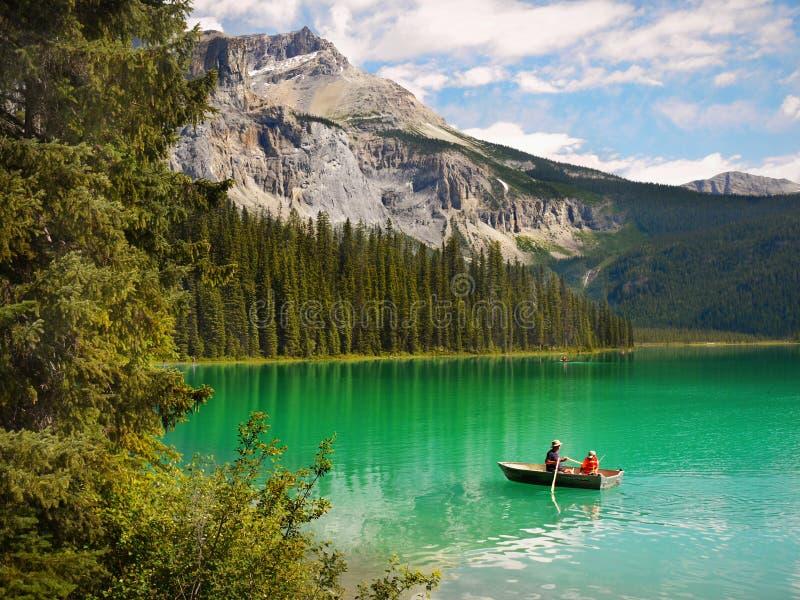 Colori verdi magici di paesaggio immagini stock