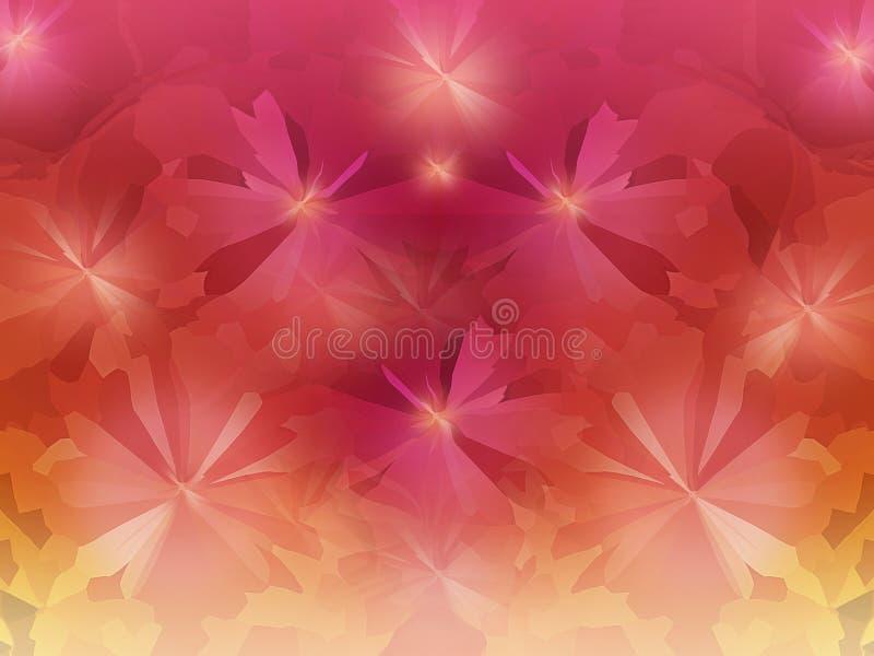 Colorido cristalice el fondo abstracto en el rosa fresco o del verano libre illustration