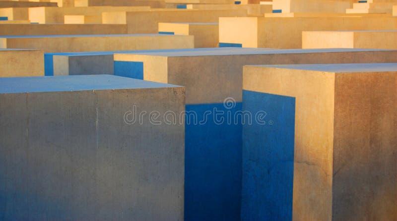 Colorido 3 cubos dimensionais ilustração stock