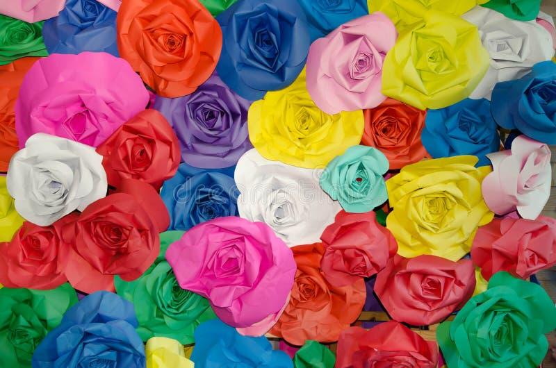 Colorido da tela de Rosa foto de stock royalty free