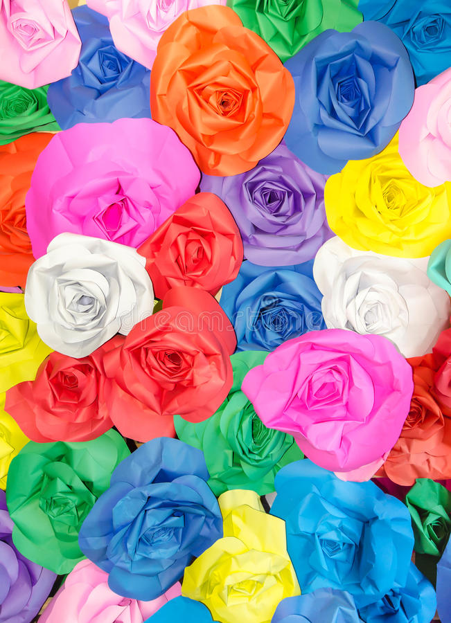 Colorido da tela de Rosa fotografia de stock
