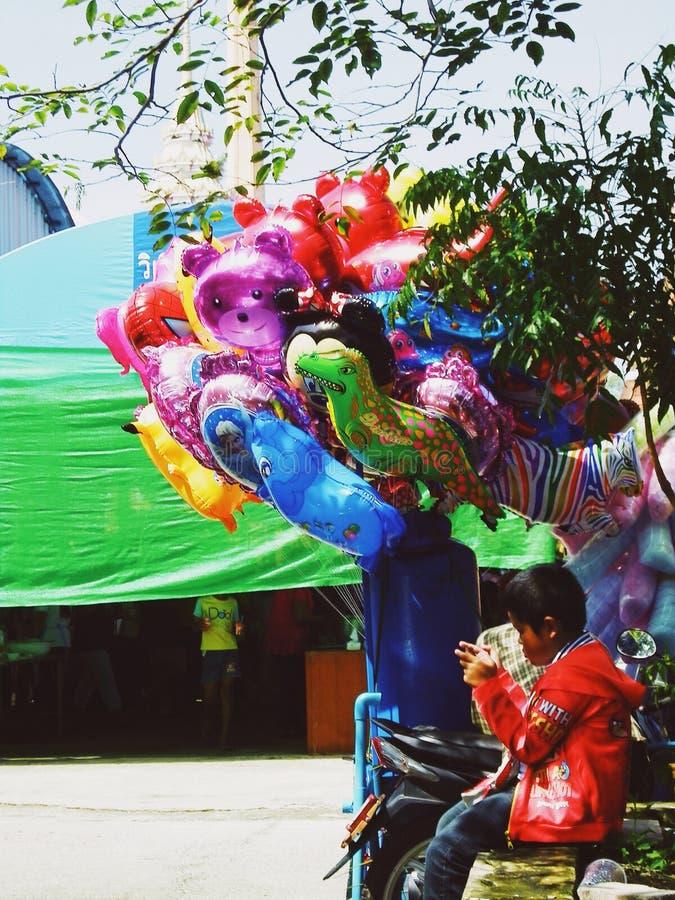 Colorido de globos imagen de archivo