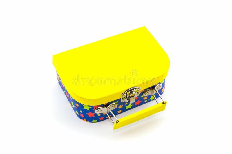 Colorido de la caja de regalo imagen de archivo