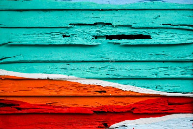 Colorido de madeira para o fundo foto de stock royalty free