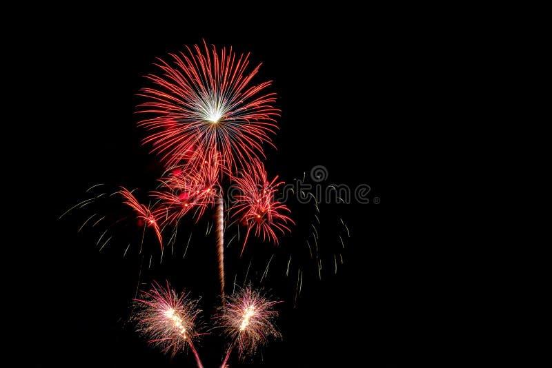 Colorido dos fogos-de-artifício fotos de stock royalty free