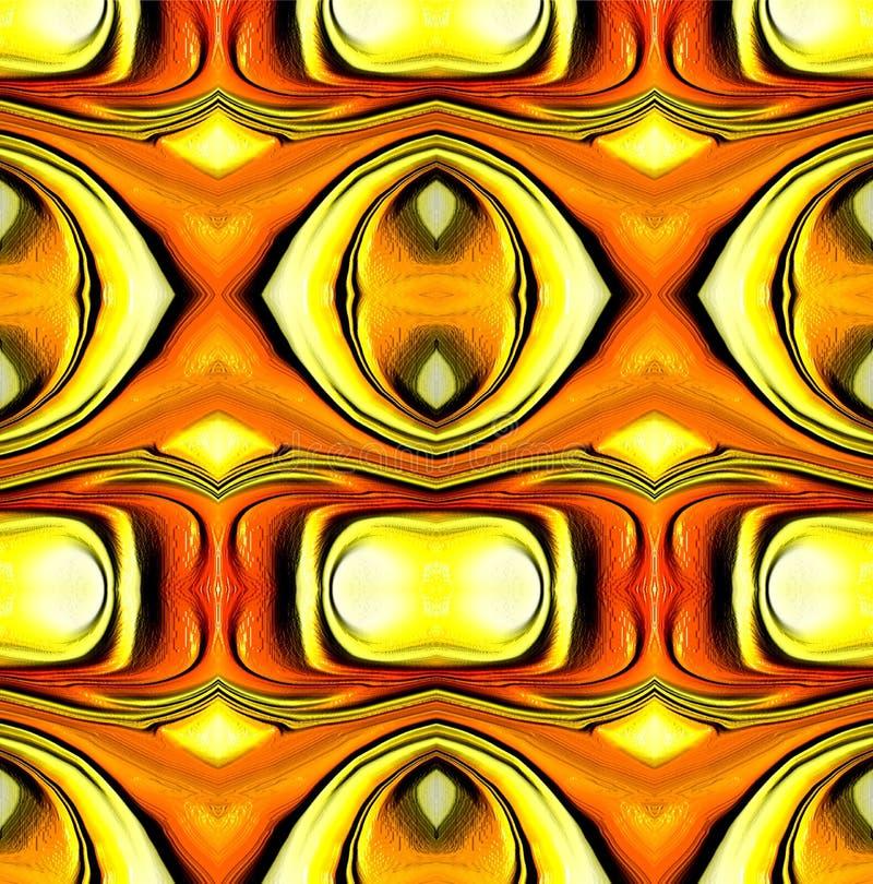 Colorido e protegido com ilustração do efeito luz e projeto gerados por computador da imagem ilustração royalty free