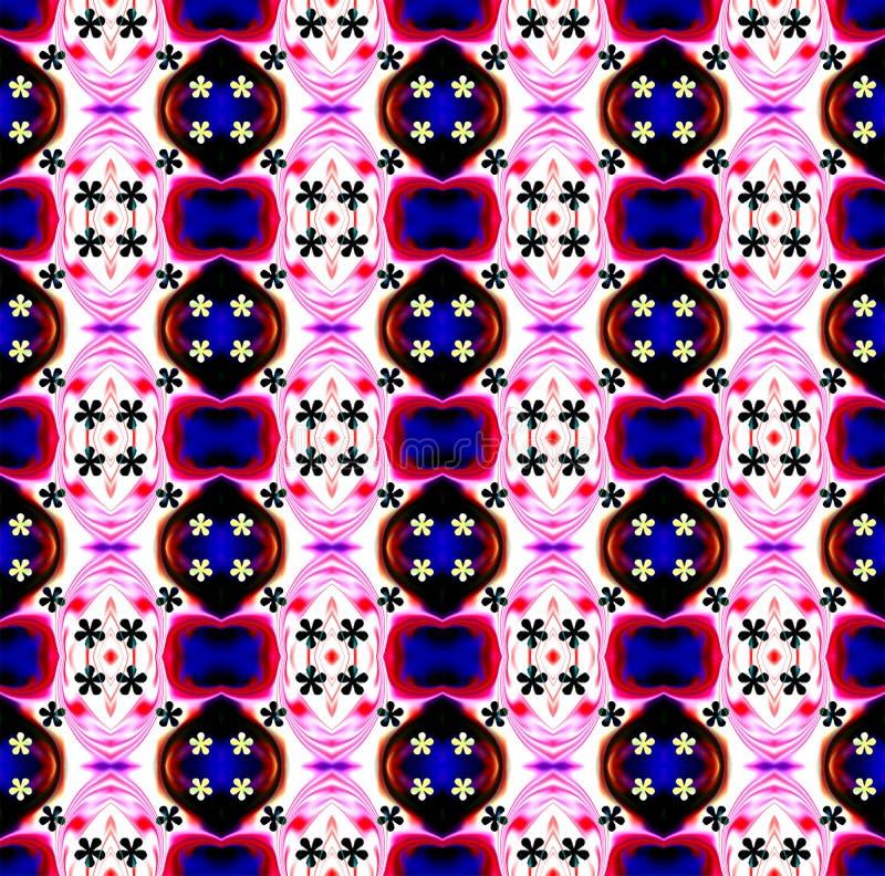 Colorido e protegido com ilustração do efeito luz e projeto gerados por computador da imagem ilustração do vetor