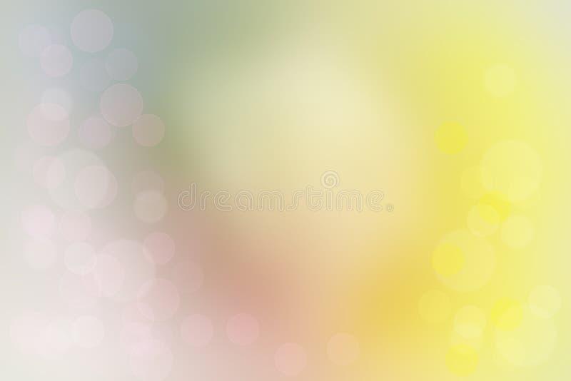 Colorido mezcló el fondo abstracto fresco del verano del bokeh fotografía de archivo libre de regalías