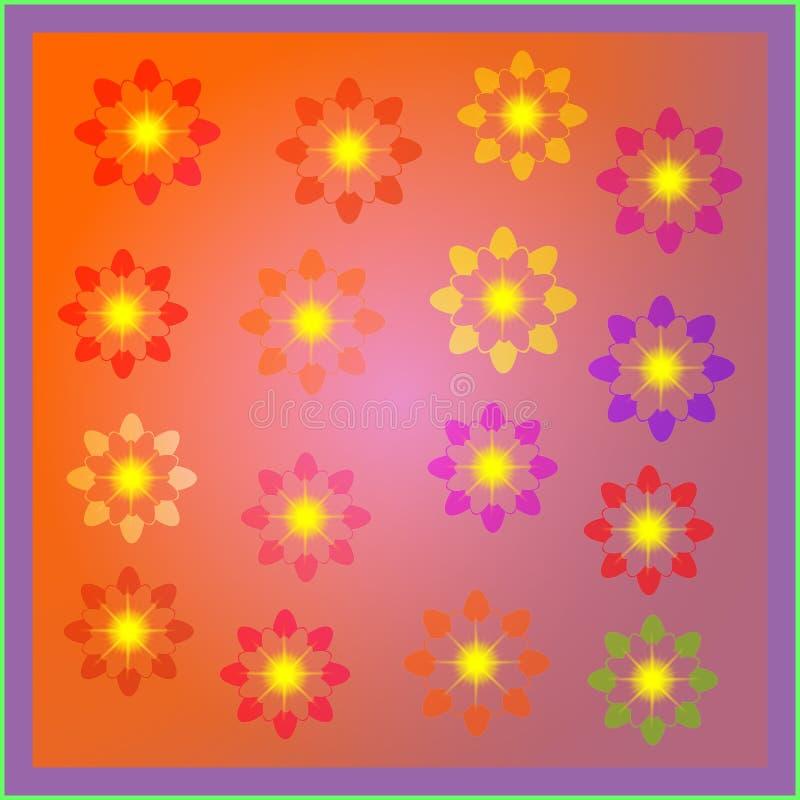 Colorido sombreado con vector del efecto y diseño del ejemplo del ordenador que brillan intensamente ilustración del vector