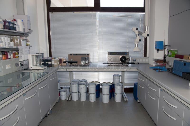 colorimetrylaboratorium arkivfoton