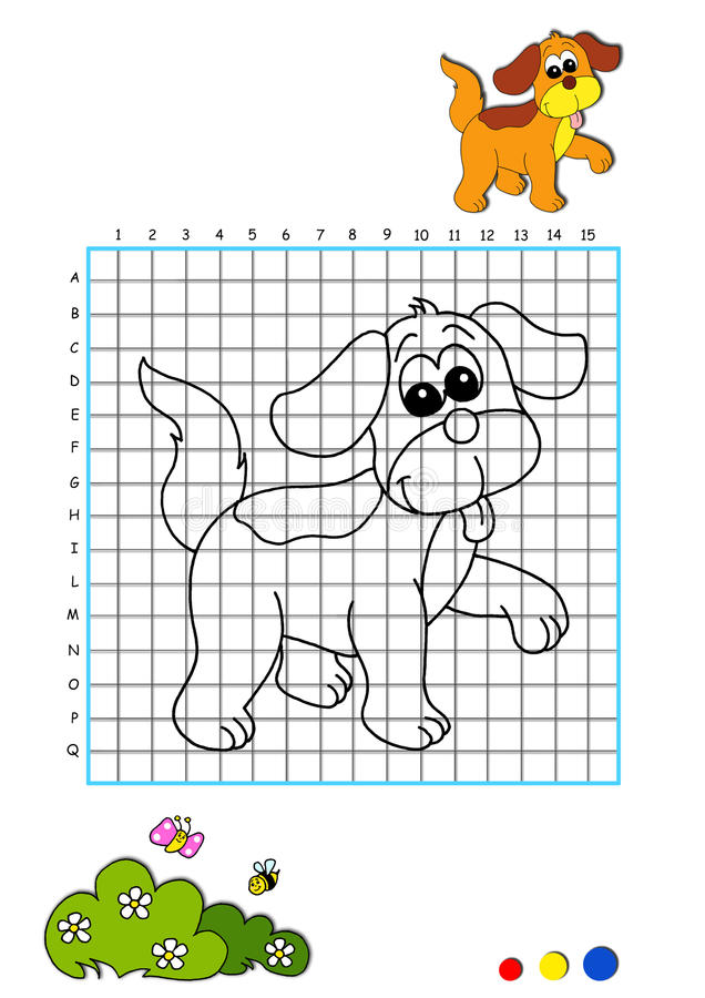 Download Coloring Book 3 - Dog Stock Image - Image: 14981681