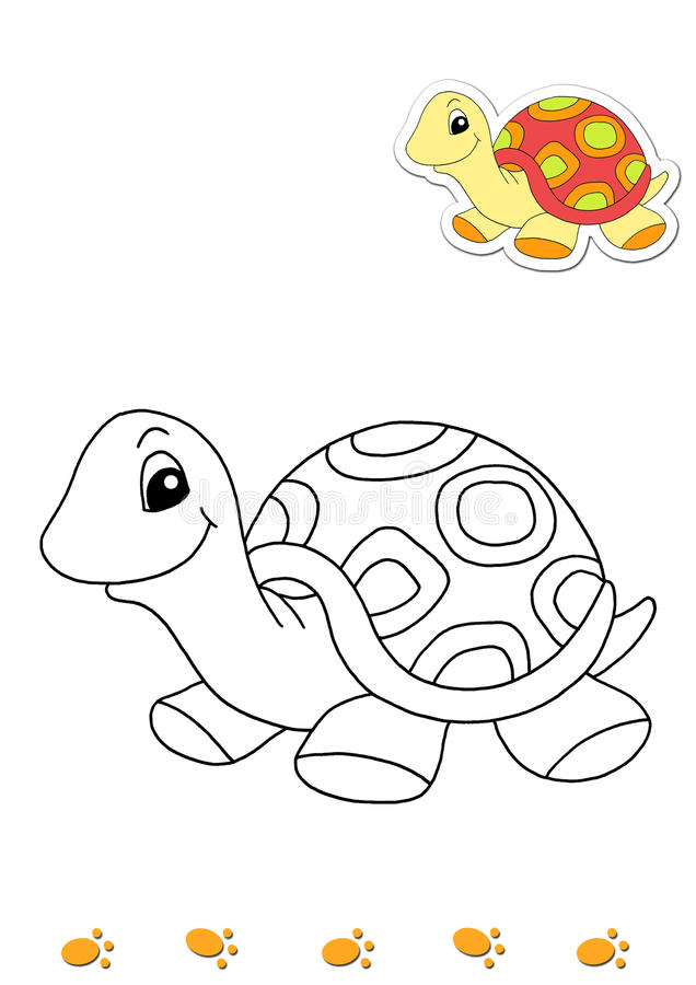 download coloring book of animals 17 cow stock illustration illustration of turtle children - Coloring Book Animals