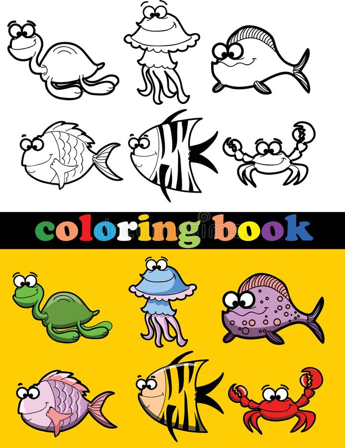 Download Coloring Book Of Animals,vector Stock Vector - Image: 31606850